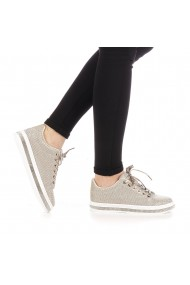 Pantofi sport dama Clear aurii
