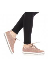 Pantofi sport dama Clear champanie