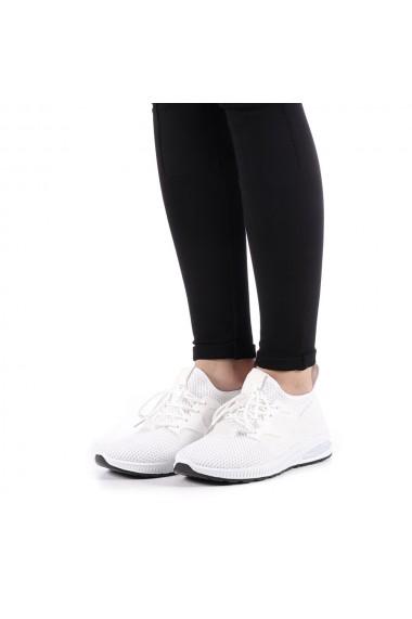 Pantofi sport dama Hemana albi