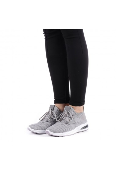 Pantofi sport dama Hemana gri