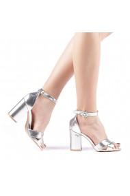Sandale dama Daman argintii