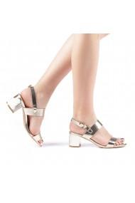 Sandale dama Enos aurii