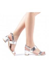 Sandale dama Enos argintii