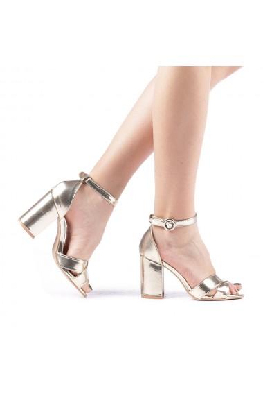 Sandale dama Daman aurii
