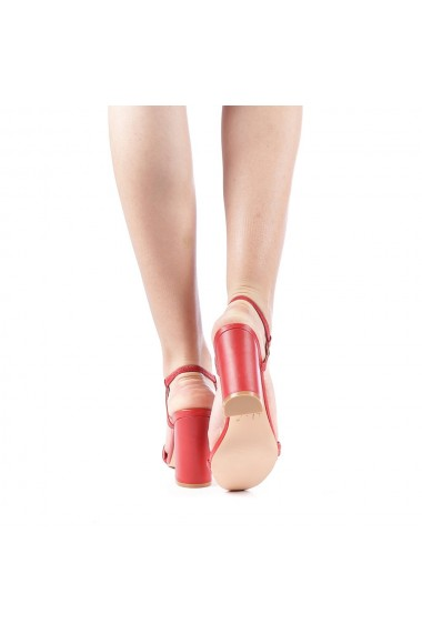 Sandale dama Branca rosii