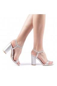 Sandale dama Branca argintii