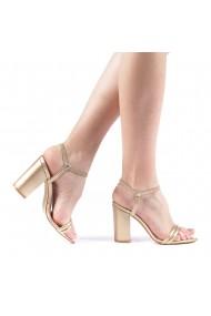 Sandale dama Branca aurii