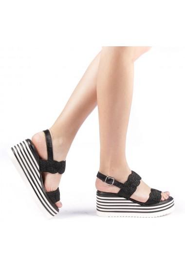 Sandale dama Dyal negre