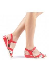Sandale dama Eliodora rosii
