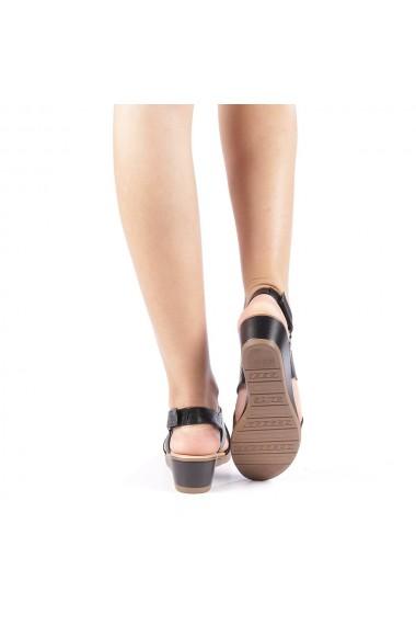 Sandale dama Edita negre