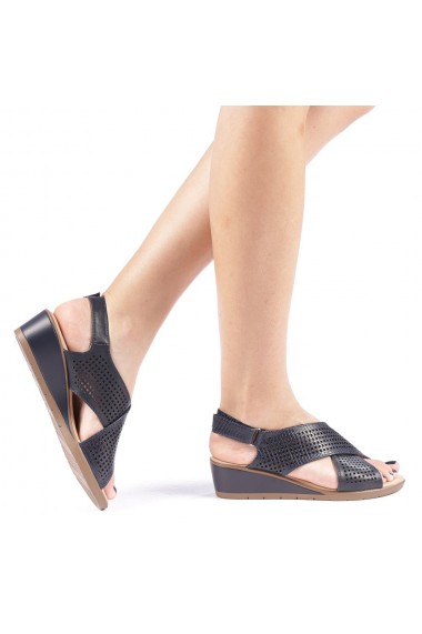 Sandale dama Edita albastre