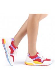 Pantofi sport dama Rahela rosii