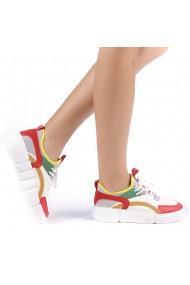 Pantofi sport dama Lania rosii
