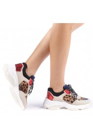 Pantofi sport dama Andra leopard
