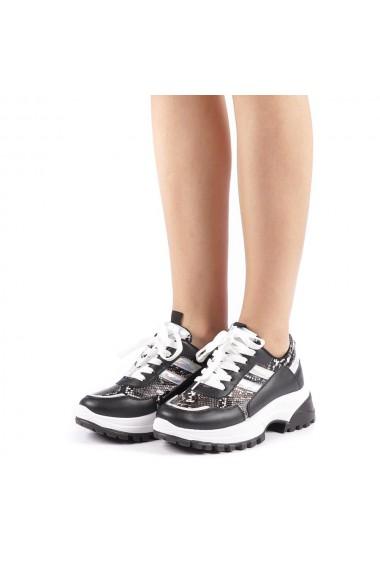 Pantofi sport dama Perena negri