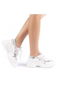 Pantofi sport dama Perena albi