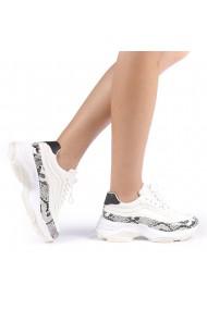 Pantofi sport dama Costelia albi