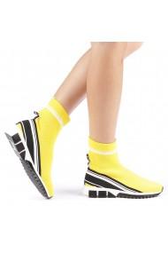 Pantofi sport dama Profira galbeni