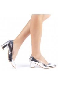 Pantofi dama Allia argintii