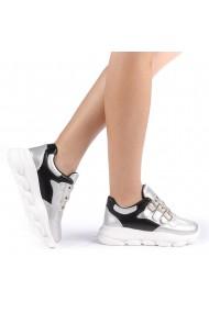 Pantofi sport dama Sandrina argintii