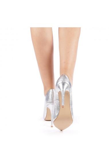 Pantofi dama Torra argintii