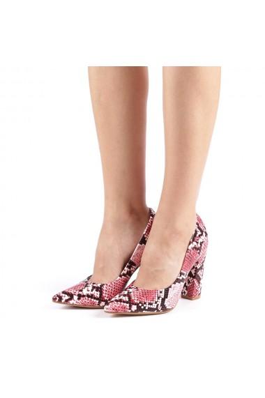 Pantofi dama Vaida grena