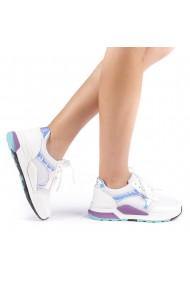 Pantofi sport dama Rahela albi