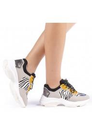 Pantofi sport dama Andra zebra