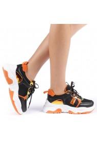 Pantofi sport dama Nastasia portocalii