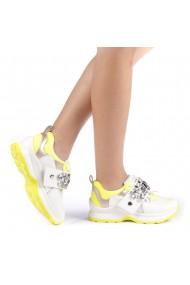 Pantofi sport dama Nona galbeni