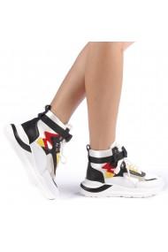 Pantofi sport dama Renee albi