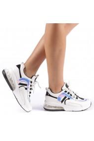 Pantofi sport dama Nikol albi
