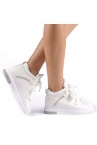 Pantofi sport dama Tasia albi