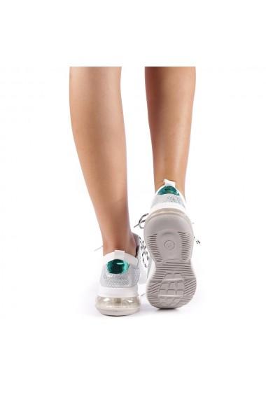 Pantofi sport dama Viorelia albi