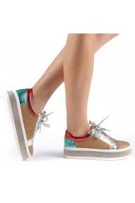 Pantofi sport dama Flavia camel