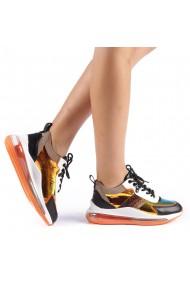 Pantofi sport dama Tamina portocalii