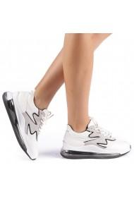 Pantofi sport dama Sadal albi
