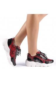 Pantofi sport dama Veroa rosii