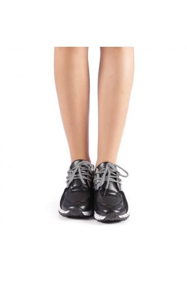 Pantofi sport dama Violette negri