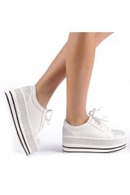Pantofi sport dama Feodora albi