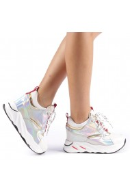 Pantofi sport dama Mayrra albi