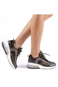 Pantofi sport dama Nikol verzi