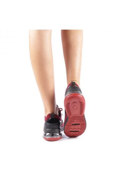 Pantofi sport dama Nikol grena