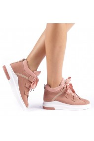 Pantofi sport dama Tasia roz