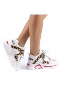 Pantofi sport dama Trania leopard