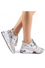 Pantofi sport dama Violette albi