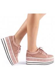 Pantofi sport dama Feodora roz