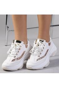 Pantofi sport dama Ermina albi
