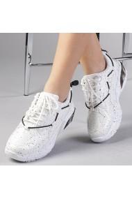 Pantofi sport dama Eugenia albi