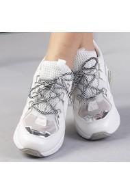 Pantofi sport dama Francesca albi